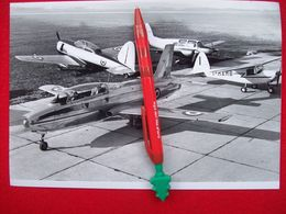 FOTOGRAFIA  AEREO    MACCHI  MB 326 PROTOTIPO + 323 320 308 - Aviation