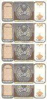OUZBEKISTAN 50 SUM 1994 UNC P 78 ( 5 Billets ) - Usbekistan