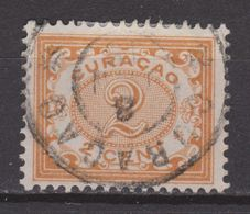 Nederlandse Antillen Curacao 30 TOP CANCEL CURACAO ; Cijfer Cipher Cifra Cifre 1904 - Curaçao, Antilles Neérlandaises, Aruba