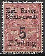 BAVIERE   -    FISCAL   -    5  Pfennig **. - Bavaria