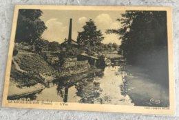 85 La Roche Sur Yon 1940 Bord De L Yon Lavoir Maison Cheminee Usine - La Roche Sur Yon