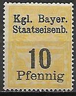 BAVIERE   -    FISCAL   -    10  Pfennig **. - Bavaria