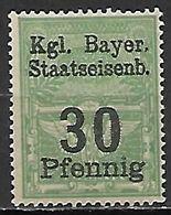 BAVIERE   -    FISCAL   -   30  Pfennig **. - Bavaria