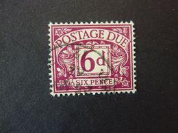 GRANDE BRETAGNE, TIMBRE-TAXE, Année 1968-69, YT N° 70 Oblitéré - Postage Due