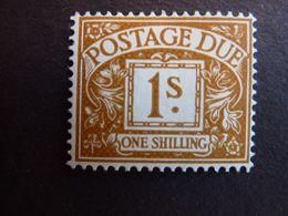 GRANDE BRETAGNE,  TIMBRE-TAXE, Année 1951-53, YT N° 36 Neuf MH* (cote 40 EUR) - Postage Due