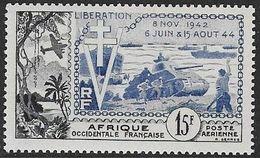 A.O.F. Poste Aérienne N°17** Neuf Sans Charnière Luxe - Neufs
