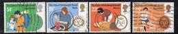 KS15B - GRAN BRETAGNA 1981, Unificato Serie 1003/1006  Usata  (2380A)  Edimburgo - 1952-.... (Elizabeth II)