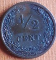 NEDERLAND : 1/2 CENT 1903 KM 133 MOOIE STAAT - [ 3] 1815-… : Royaume Des Pays-Bas