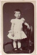 Photo CDV Françoise De Bailliemont Albert Baron Douai 1882 - Ancianas (antes De 1900)