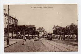 - CPA BRUXELLES (Belgique) - Porte D'Anvers 1909 - Edition Grand Bazar Anspach N° 37 - - Public Transport (surface)