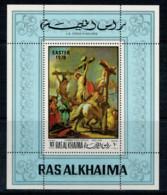 RAS  AL  KHAIMA     LA  CROCIFISSIONE   (GIAMBATTISTA  TIEPOLO )   MNH** - Ras Al-Khaima