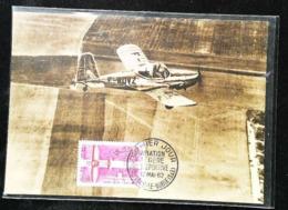 Aviation De Tourisme - Aviation Légère Et Sportive  - Carte Maximum Card 1962 (Toussus Le Noble) - Toussus Le Noble