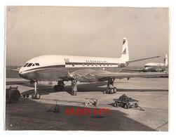 COMET JET AIRLINER FOR FRANCE 8/11/1952 - Grande Photo 180 X 240 Mlls - N° 6599C - DE HAVILLAND PHOTOGRAPH - 1946-....: Modern Era