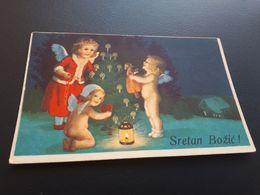 Postcard - Angels      (28929) - Engel
