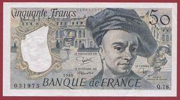 """50 Francs """"Quentin De La Tour"""" 1980---SUP----ALPH.Q.18----AUCUN TROU D EPINGLE - 50 F 1976-1992 ''Quentin De La Tour''"""