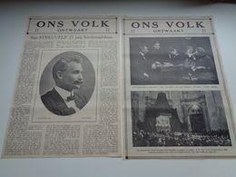 """Origineel Knipsel ( 70 ) Uit Tijdschrift """" Ons Volk Ontwaakt """"  1924 : Stijn Streuvels  Heule  Ingooigem , Anzegem - Vieux Papiers"""