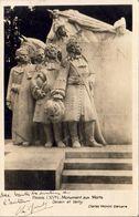 PARIS XV ème MONUMENT AUX MORTS PAR Charles YRONDY Avec Autographe Du Sculpteur - Sculptures