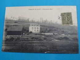 """22 ) Corlay - Vue Près La Gare """" Attelage """" : EDIT : - Autres Communes"""