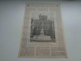 """Origineel Knipsel ( 73 ) Uit Tijdschrift """" Ons Volk Ontwaakt """"  1924 : Kasteel Van Gaesbeek ( Gaasbeek ) - Ohne Zuordnung"""