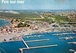 13 - Fos Sur Mer - Vue Générale Aérienne - Le Nouveau Port De Plaisance Saint Gervais - Other Municipalities