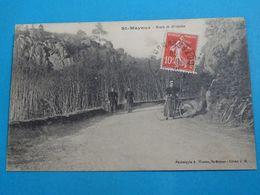 22 ) Saint-mayeux - Route De Saint-gilles -  Année 1919 : EDIT : Waron - Autres Communes