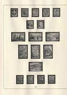 FRANCE Jeu SAFE ID 1960 à 1969 44 Pages En Parfait état - Albums & Binders