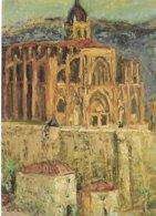 """L16C_73 - CPM - Jean Vinay """"L'Abbaye De St-Antoine"""" 1965 - Collection Département De L'Isère - Malerei & Gemälde"""