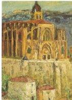 """L16C_74 - CPM - N° 1 Jean Vinay """"Abbaye De St-Antoine"""" 1976 - Collection Département De L'Isère - Malerei & Gemälde"""