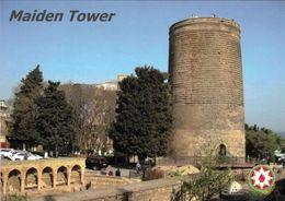 1 AK Aserbaidschan * Der Jungfrauenturm In Der Altstadt Von Baku - Seit 2000 UNESCO Weltkulturerbe * - Azerbaïjan