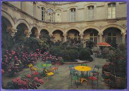 Carte Postale 34. Montpellier  Clinique Du Carré Du Roi  La Cour Intérieure   Très Beau Plan - Montpellier