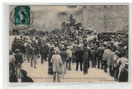 71 CHALON SUR SAONE #12433 PLACE MATHIAS UN JOUR DE FOIRE LE CHARLATAN - Chalon Sur Saone