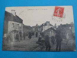 22 ) Corlay - Le Marché   -  Année 1919 : EDIT : Sofel - Autres Communes