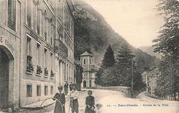 64 Eaux Chaudes Entrée De La Ville - Sonstige Gemeinden
