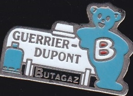 65478-Pin's- Guerrier-Dupont Butagaz.Dainville - EDF GDF
