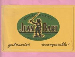 BUVARD - ARTICLES GALVANISES EN ACIER RENFORCE  :  JEAN  BART - A