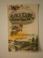 Souvenir De Luxembourg (Train) Lot De 2 Cartes (9128) - Ansichtskarten