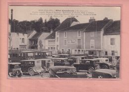 OLD POSTCARD -  FRANCE - BEZE - AUTO - AUTOMOBILE - HOTEL - Andere Gemeenten
