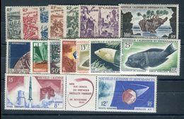Nouvelle Calédonie - Lot De 16 Valeurs Neufs ** Luxe Cote 131 € - Réf D 59 - Lots & Serien