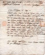 1793 - CETTE - Lettre D'Honoré CELLY Au Citoyen Etienne DESMAZES, Négociant à St Laurent - Documents Historiques