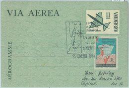 85964 - ARGENTINA - POSTAL HISTORY - STATIONERY Aerograme 1973 ANTARCTIC - Argentina