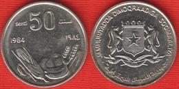 """Somalia 50 Senti 1984 Km#26a """"FAO"""" XF-AU - Somalia"""