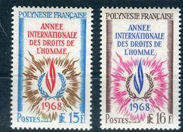 Polynésie - N° 62/63 Neufs ** Luxes - Cote 26€ - Réf D 40 - Unused Stamps