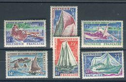 Polynésie - N° 36/41 Neufs ** Luxes - Cote 31€ - Réf D 39 - Unused Stamps