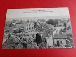 51 / BATAILLE DE LA MARNE 1918 / VILLERS - Sous - CHATILLON / VUE D4 ENSEMBLE ET LA MAIIRE - France