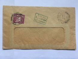 GB 1965 Cover London Postmark With 6d Postage Due And To Pay Cachet - Brieven En Documenten