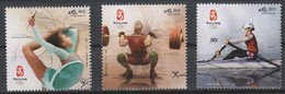 Olympics 2008 - Olympiques - Weightlifting - MEXICO - Set MNH - Ete 2008: Pékin
