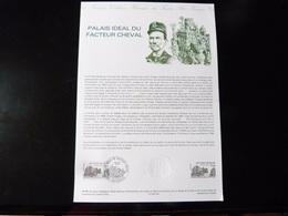 COLLECTION HISTORIQUE DU TIMBRE POSTE FRANCAIS  1984  -    PALAIS IDEAL DU FACTEUR CHEVAL - Documenten Van De Post
