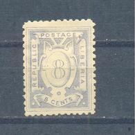 Liberia 1886  MLH - Liberia