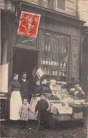 CARTE-PHOTO-MAGASIN FRUITERIE -A SITUER - Tiendas
