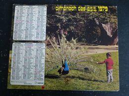CALENDRIER ALMANACH DES PTT LA POSTE 1979 AVEC CARTES YONNE AVALLON AUXERRE SENS - Calendars